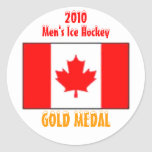 2010 Canada Men's Ice Hockey - Gold Medal Round Stickers