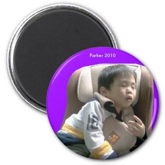 2010 Car Seat 2 Inch Round Magnet