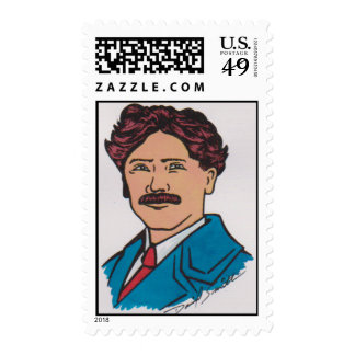 2010 Centennial Scouting Stamp Art by David Smith