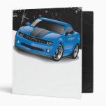 2010 Chevrolet Camaro Binder (Blue)