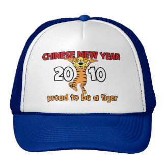2010 Chinese New Year of The Tiger Trucker Hat