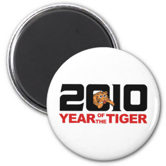 2010 Chinese Year of The Tiger Gift Magnet