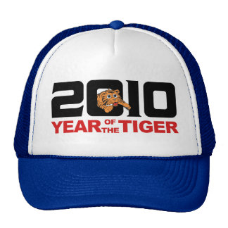2010 Chinese Year of The Tiger Gift Trucker Hats