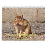 2010 Chipmunk Calendar