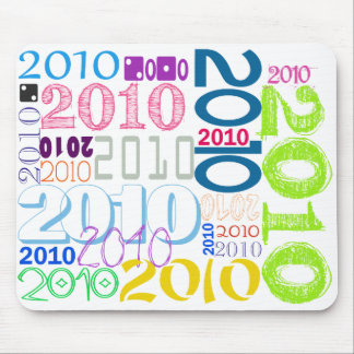 2010 Collage Mouse Pad