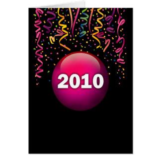 2010 Confetti Card
