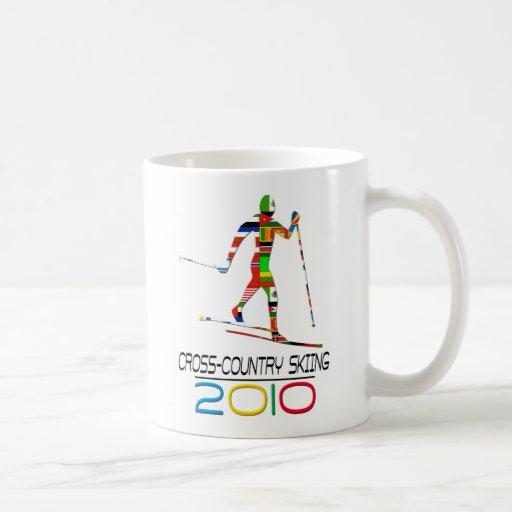 2010: Cross Country Skiing Coffee Mug