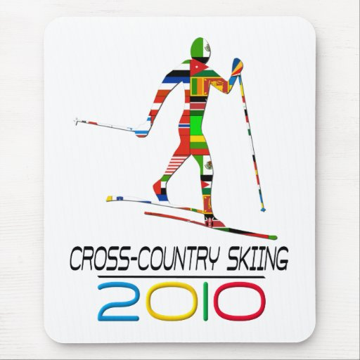 2010: Cross Country Skiing Mouse Pad