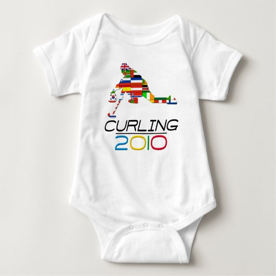 2010: Curling Baby Bodysuit
