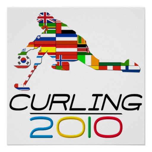 2010: Curling Posters