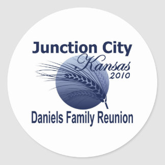 2010 Daniels Family Reunion Stickers