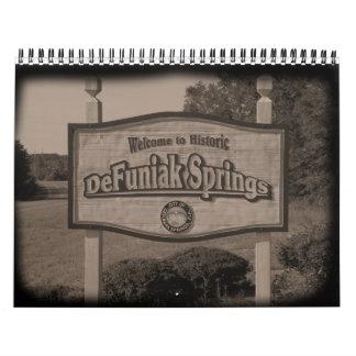 2010 DeFuniak Springs Calendar