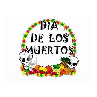 2010 Dia De Los Muertos Business Cards