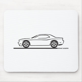 2010 Dodge Challenger Mousepads