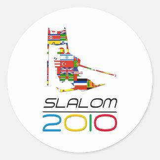 2010: Eslalom Etiquetas Redondas