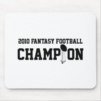2010 Fantasy Football Champion Mousepad