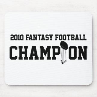 2010 Fantasy Football Champion Mousepads
