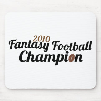 2010 fantasy football champion mouse pads