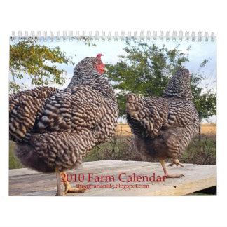 2010 Farm Calendar