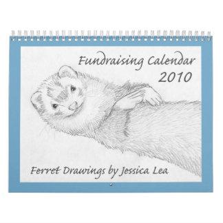 2010 Ferret Fundraising Calendar