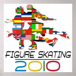 2010: Figure Skating Poster