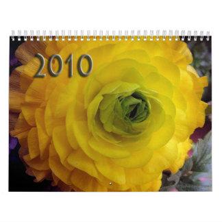 2010 - Floral Beauty Wall Calendar
