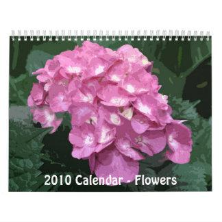 2010 Floral Calendar / Floral Calendar