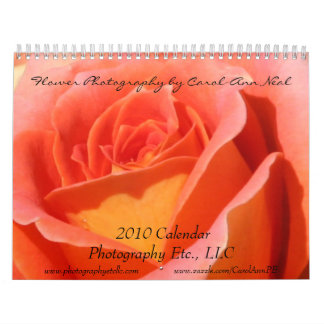 2010 Flower Photography Calendar