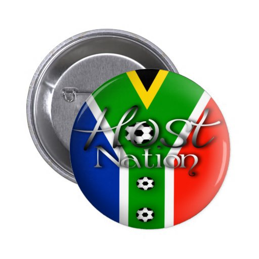 2010 Football host nation gifts & souvenirs Buttons