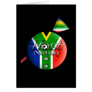2010 Football host nation gifts & souvenirs Card