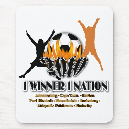 2010 Football host nation gifts, souvenirs tourist Mouse Pad