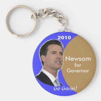 2010 Gavin Newsom Keychain