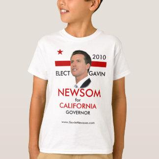 2010 Gavin Newsom Kid's Tee