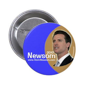 2010 Gavin Newsom pin