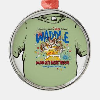 2010 Golden Gate Basset Rescue Waddle Ornament