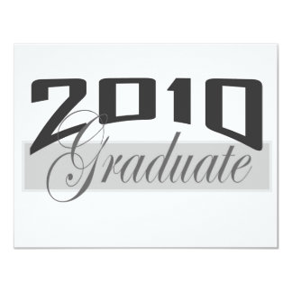 2010 Graduate Invitation