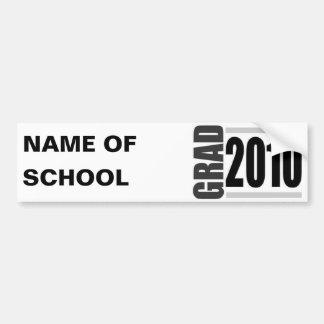 2010 Graduation Bumper Sticker