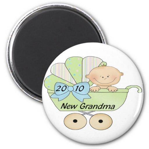 2010 Grandma 2 Inch Round Magnet