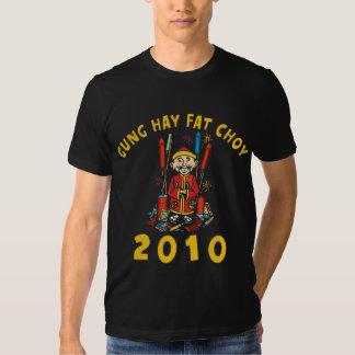2010 Gung Hay Fat Choy Black Tshirt