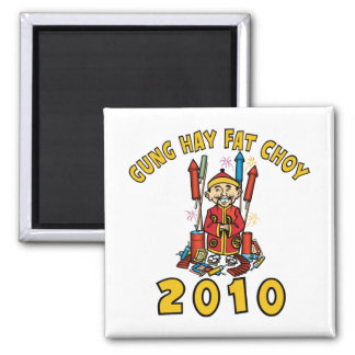 2010 Gung Hay Fat Choy Fridge Magnets