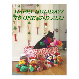 2010 HAPPY HOLIDAYS TO ONE AND ALL! POSTCARD