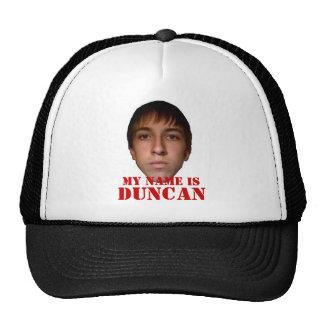 2010 Hat, My name is Duncan Trucker Hat