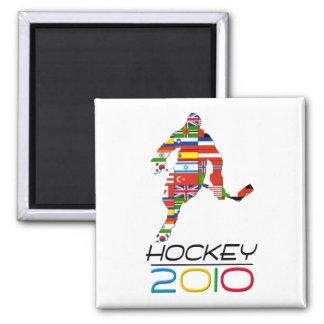 2010: Hockey Refrigerator Magnet