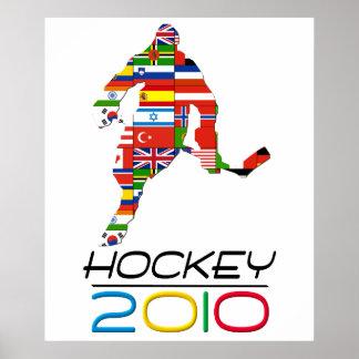 2010: Hockey Poster