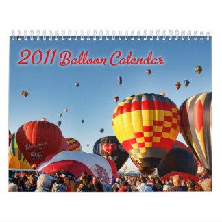 2010 Hot Air Balloon Calendar