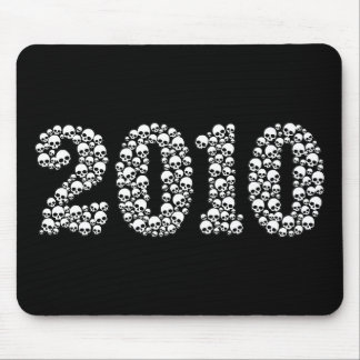 2010 in Skulls Mouse Pad