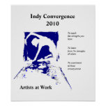 2010 Indy Convergence Poster