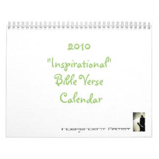 "2010 ""Inspirational"" Bible Verse Calendar"
