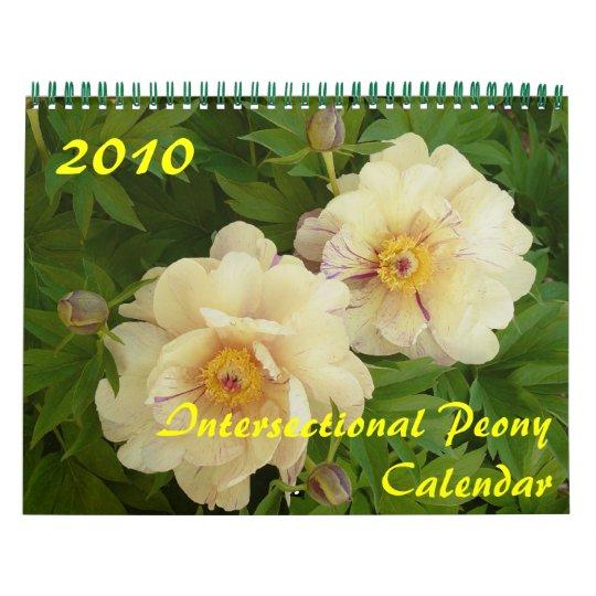 2010 Intersectional Peony Calendar