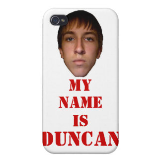 2010 iPhone 4 Case, My name is Duncan Cover For iPhone 4